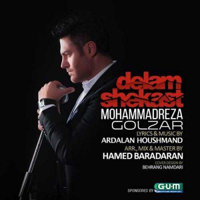 محمدرضا گلزار  دلم شکست